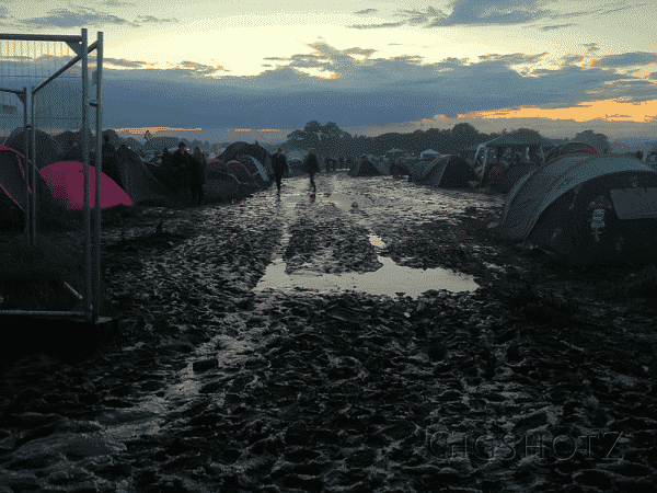 Mud - get used to it, it's all part of surviving a festival