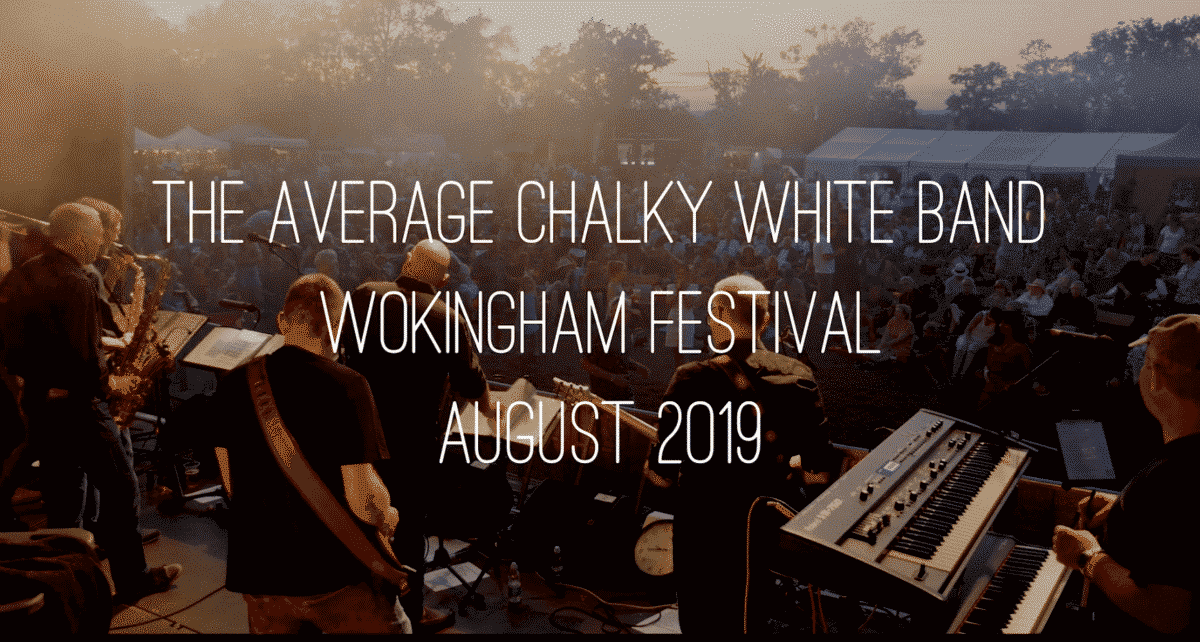 The Average Chalky Wite band at Wokingham Festival