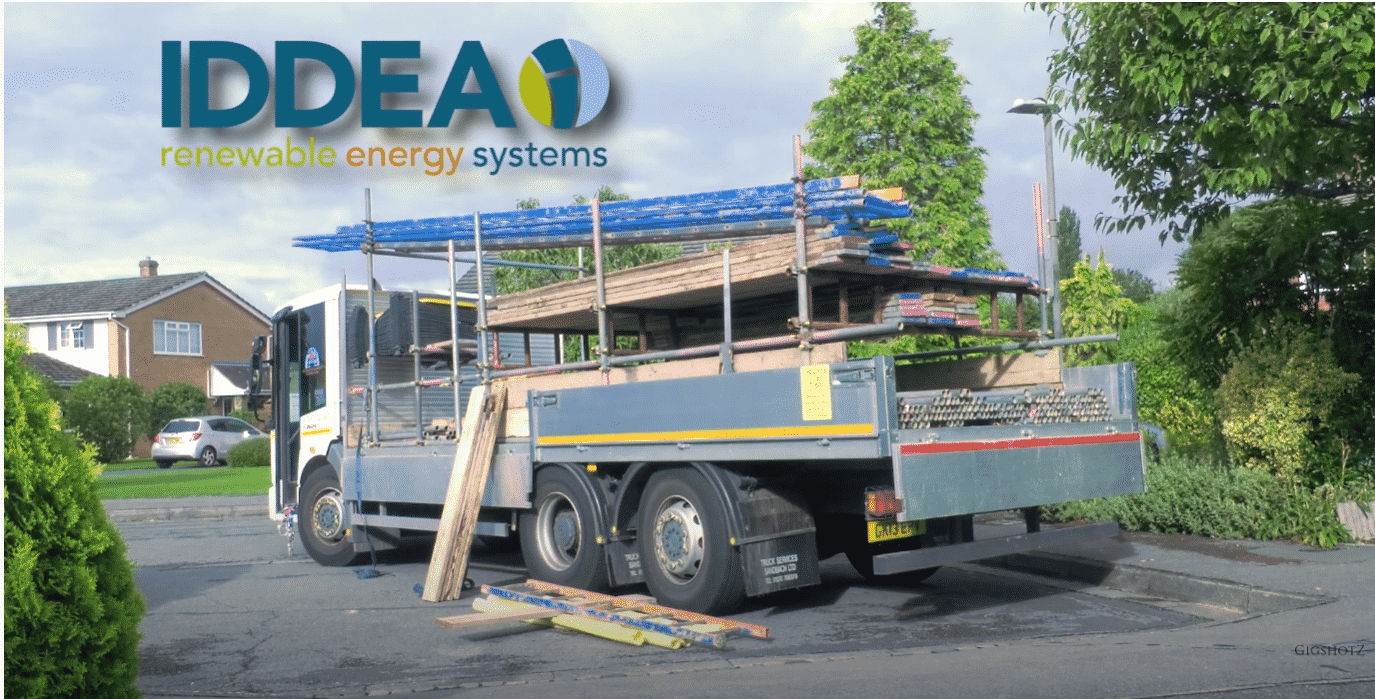 IDDEA solar panel installation