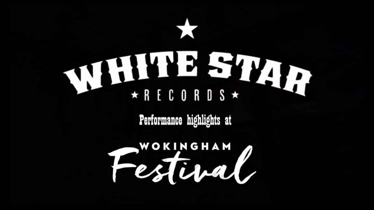 Whitestar records live performance video at wokingham festival